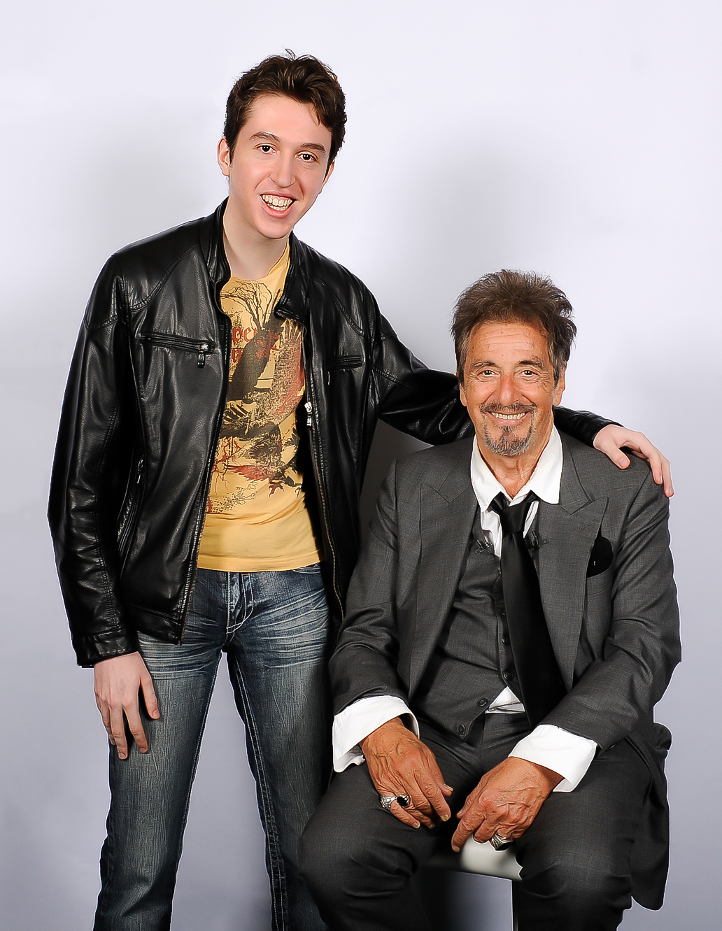 Laurent Cousineau and Al Pacino