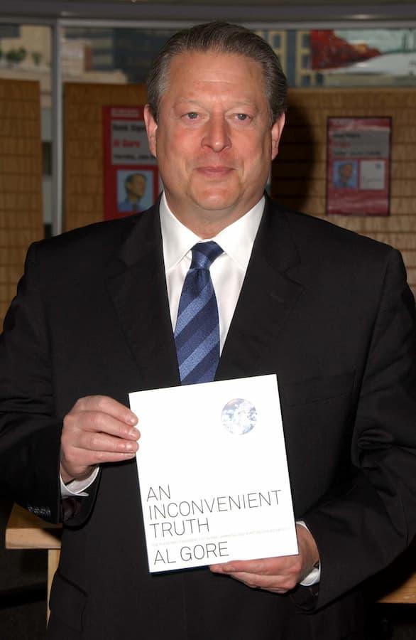 Al Gore with book