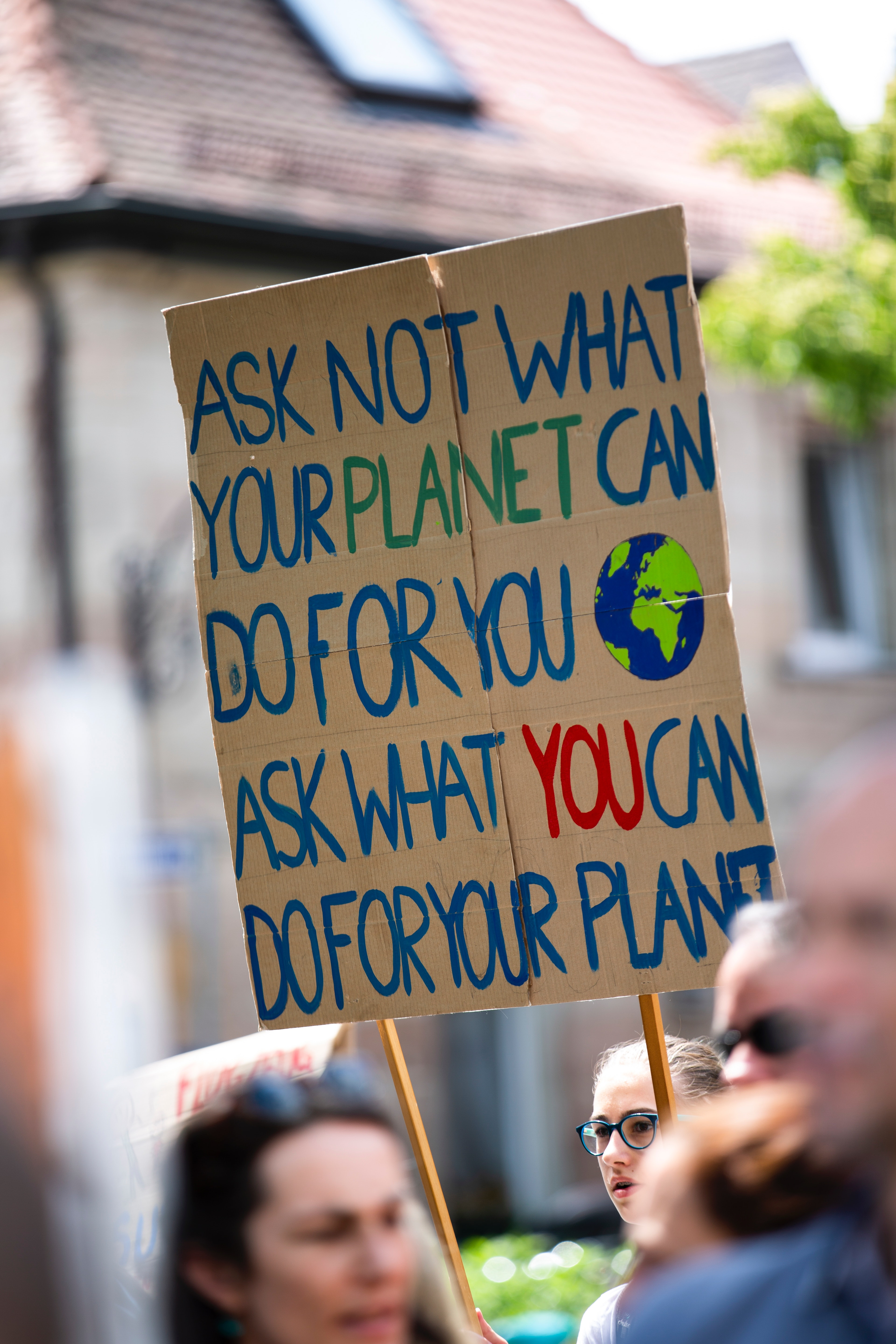 Ask what you can do for your planet