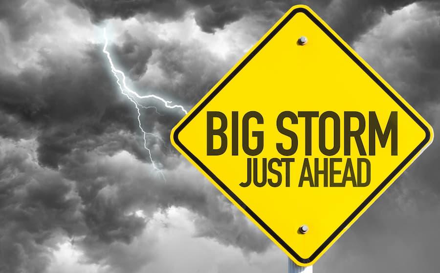 Big Storm Just Ahead