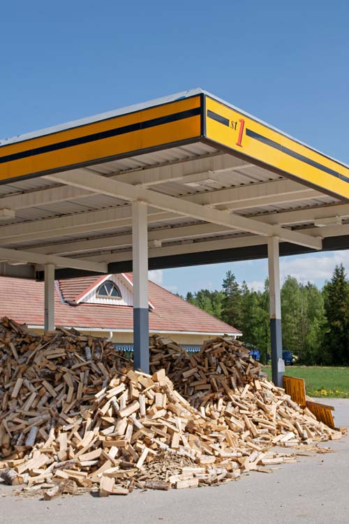 Firewood is a form of biofuel