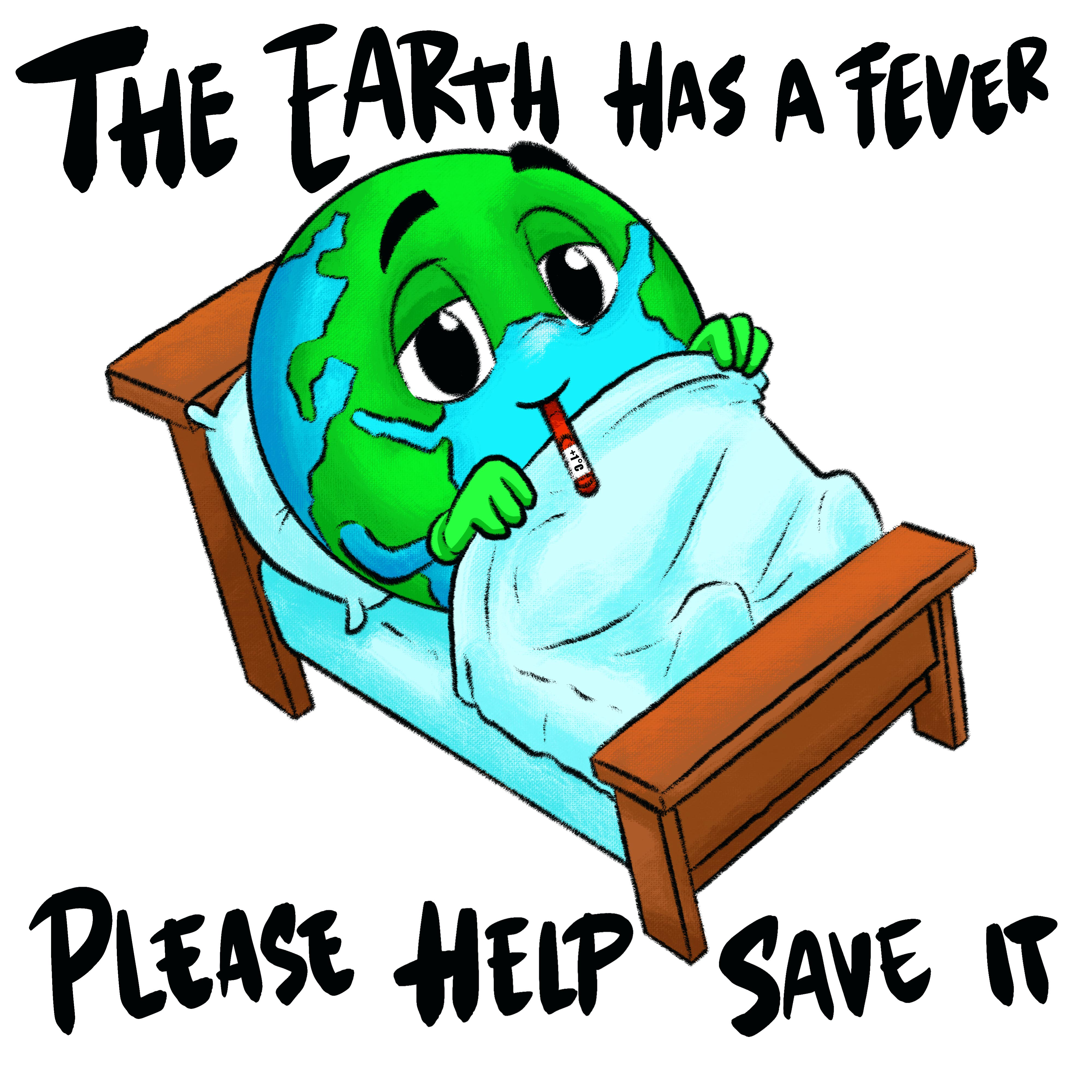 Earth has a fever