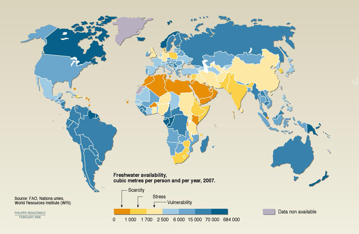 Water scarcity is currently affecting over a billion people