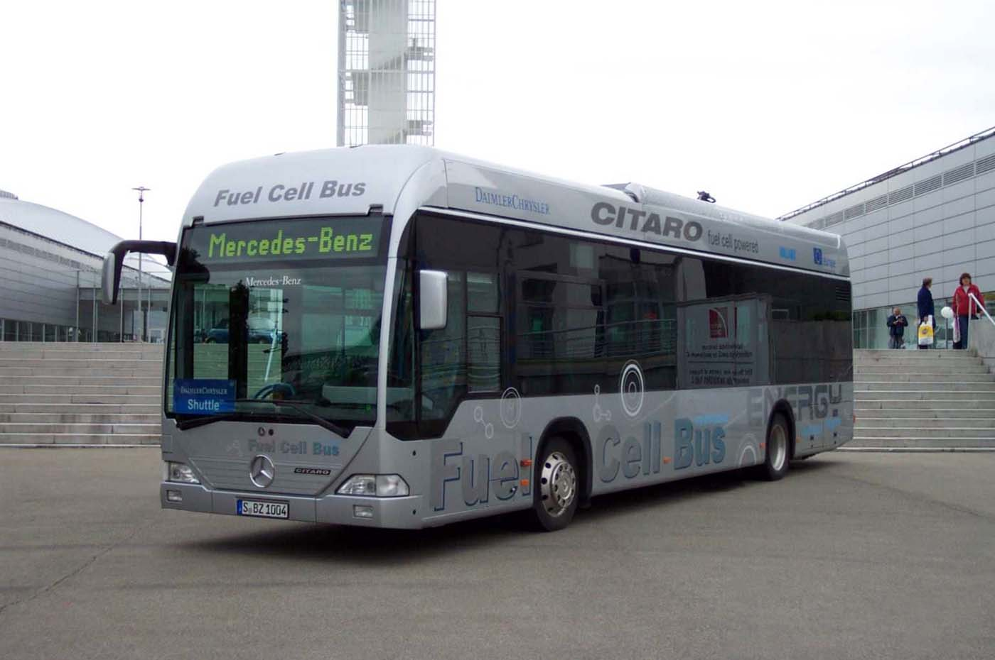Mercedes-Benz fuel cell bus