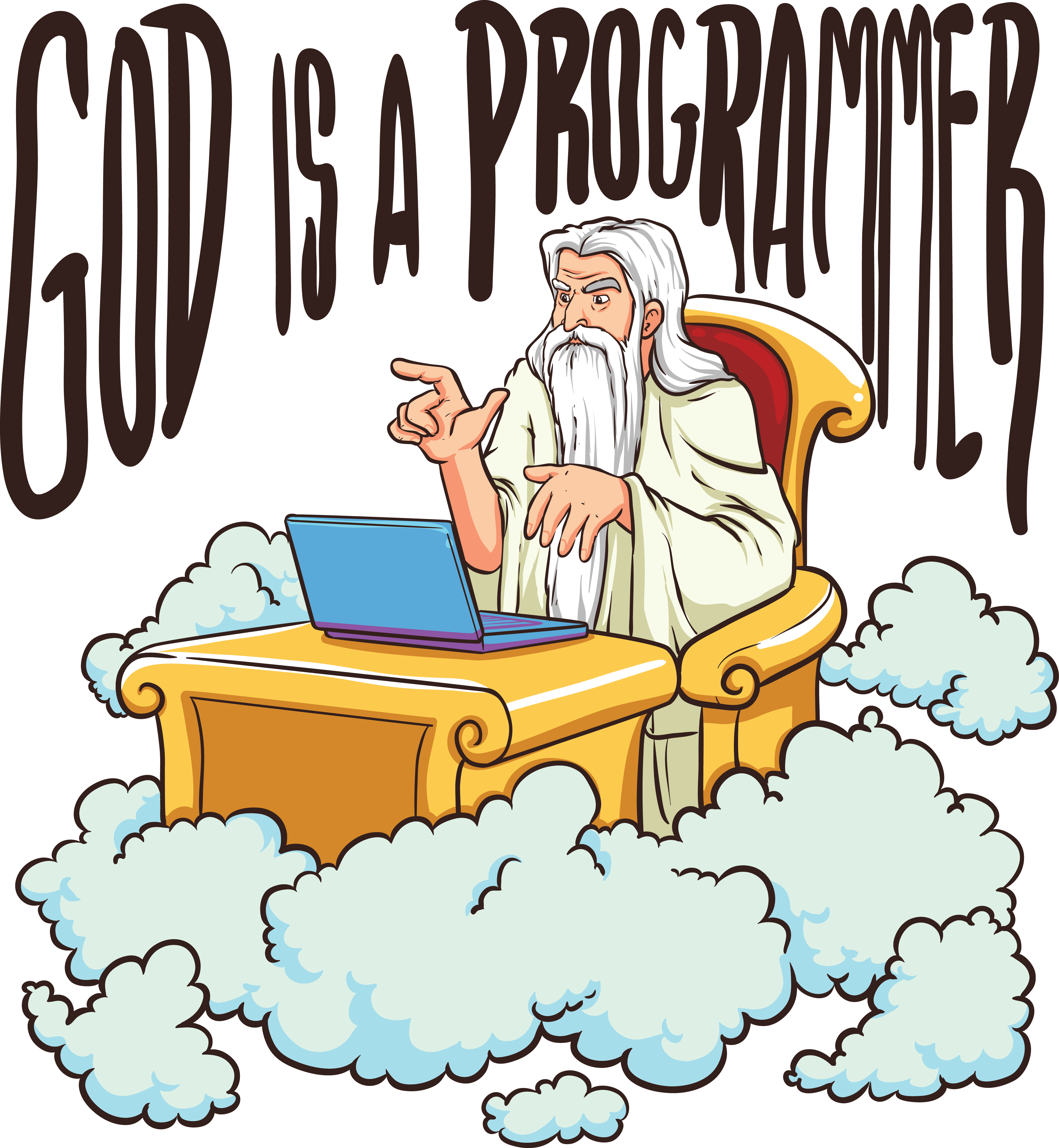 God is a programmer