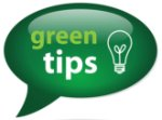 There are several green tips that will help you live a greener life