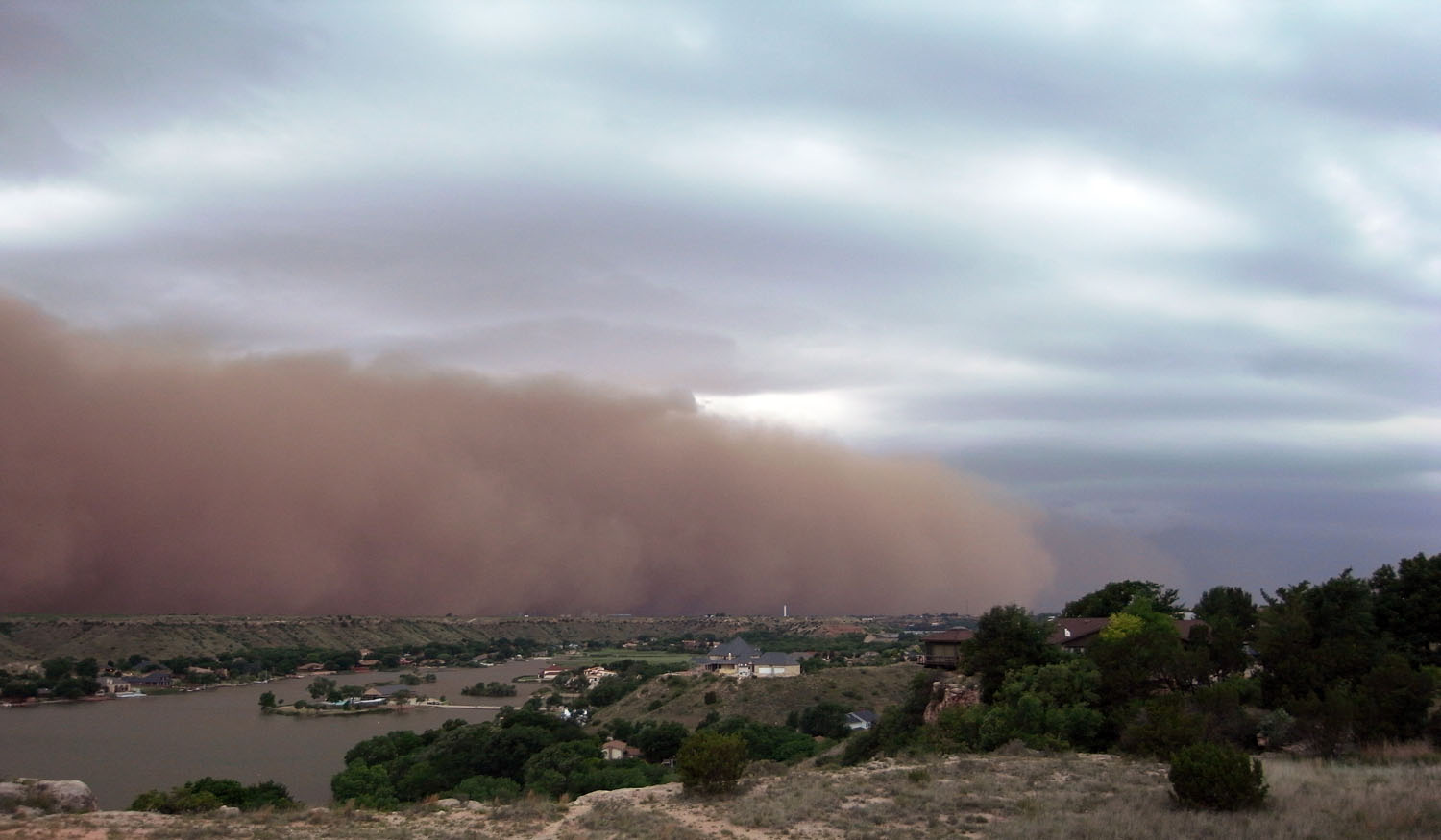 Dust storms can spread disease and will have disastrous effects on agriculture