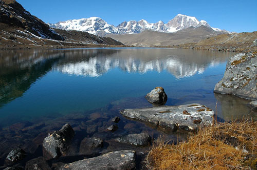 The Himalayas provide fresh water to over a billion people