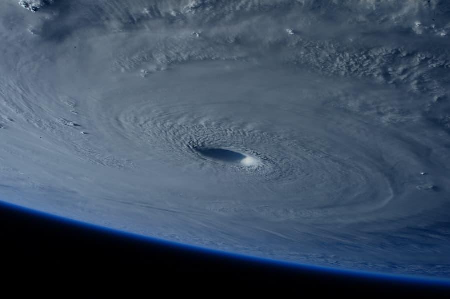 Hurricane from NASA