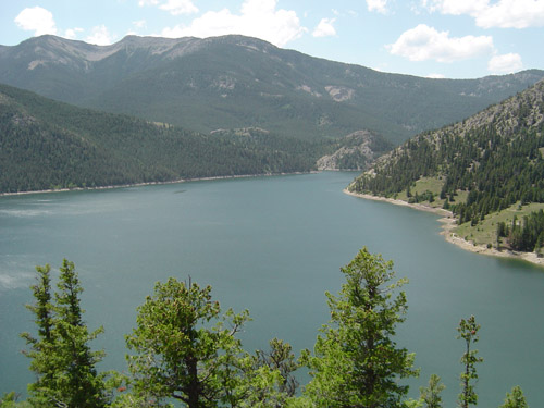 The reservoirs for hydroelectric dams can cause tremendous damage to the environment