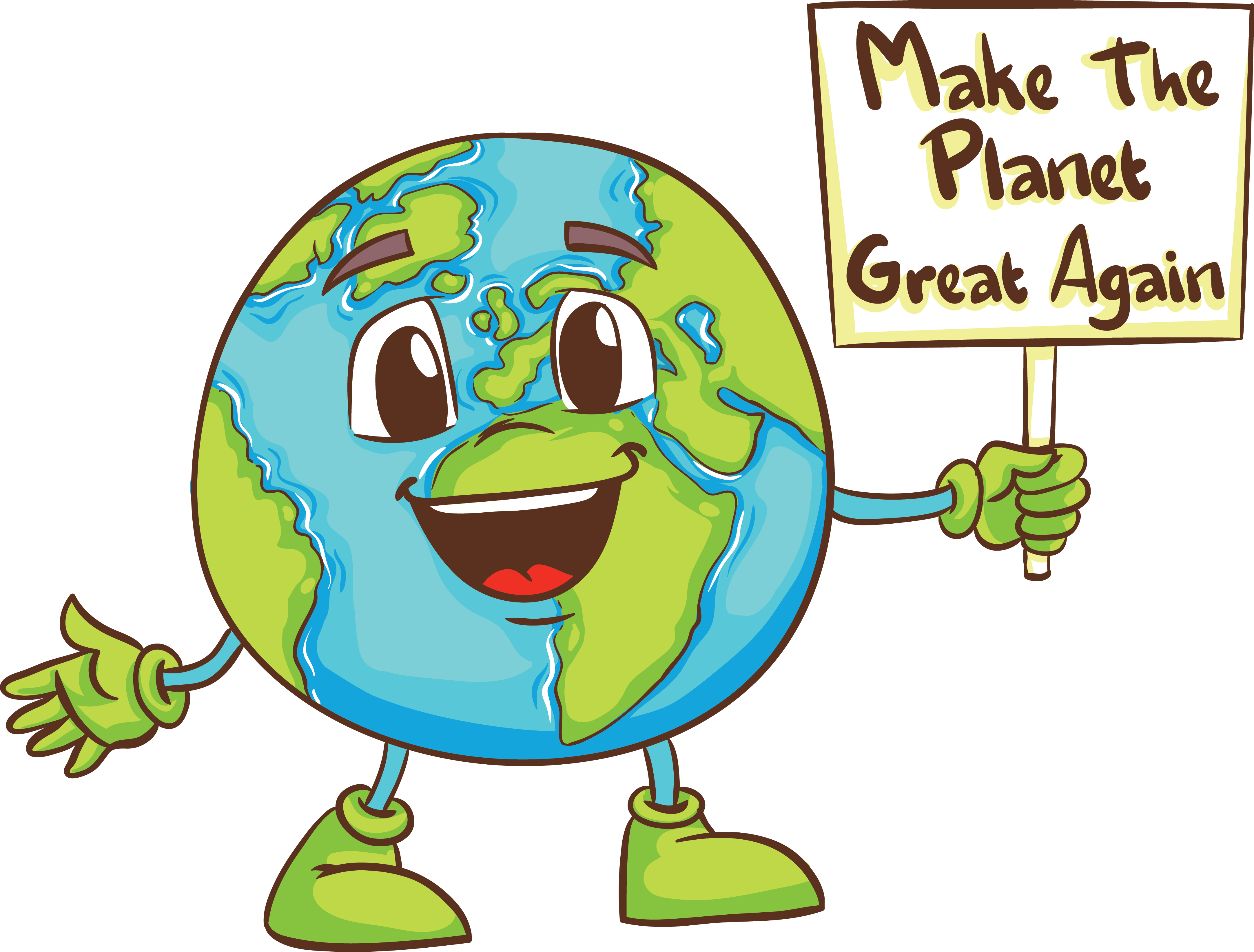 Make the Planet Great Again (no hat)