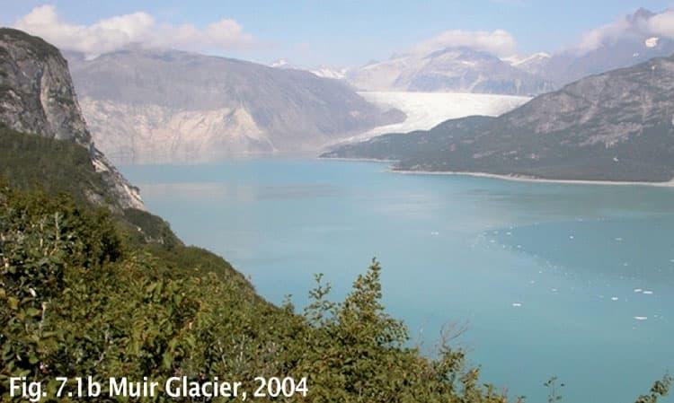 Muir Glacier in 2004