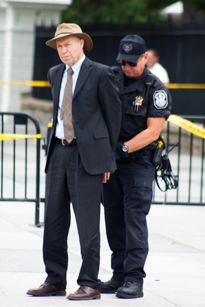 NASA Scientist James Hansen arrested