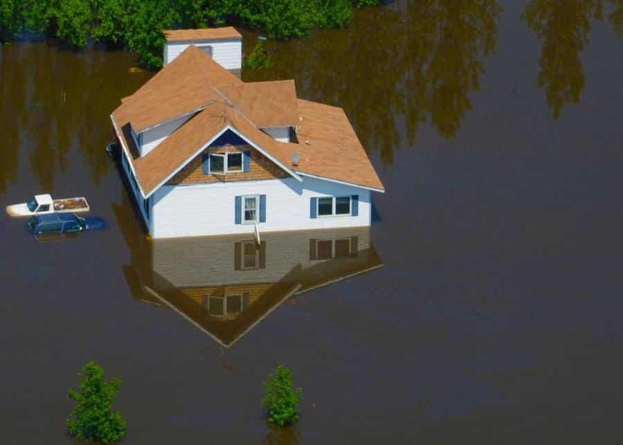 North Dakota flood relief