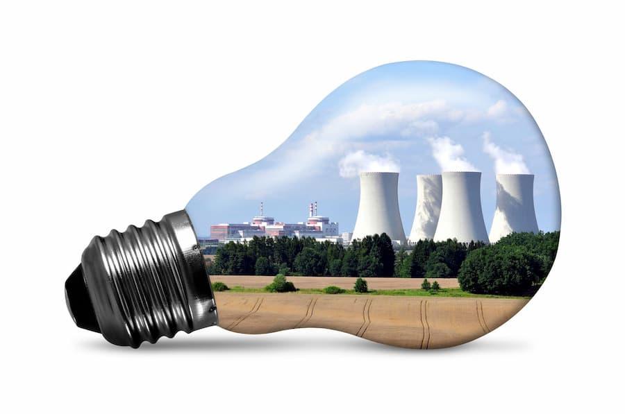 Nuclear Power Light Bulb