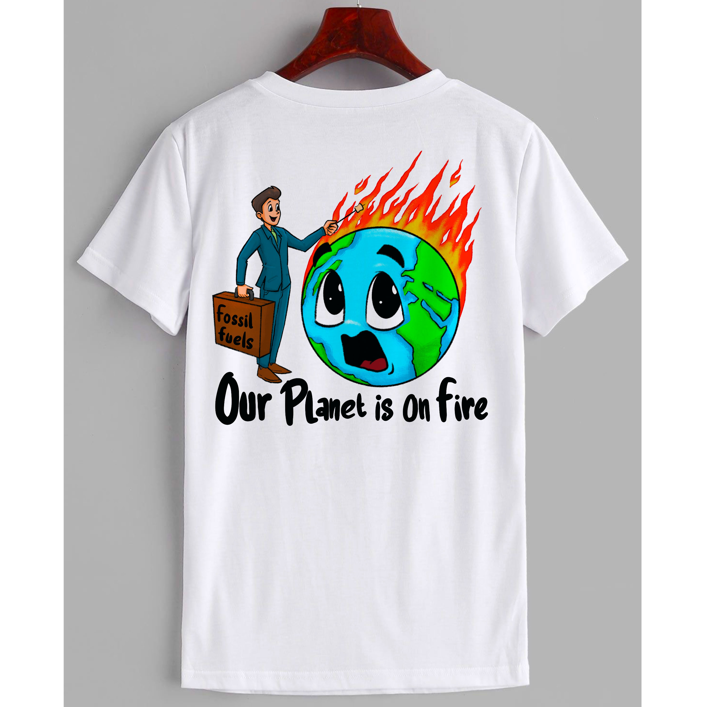 Our Planet is on Fire T-Shirt