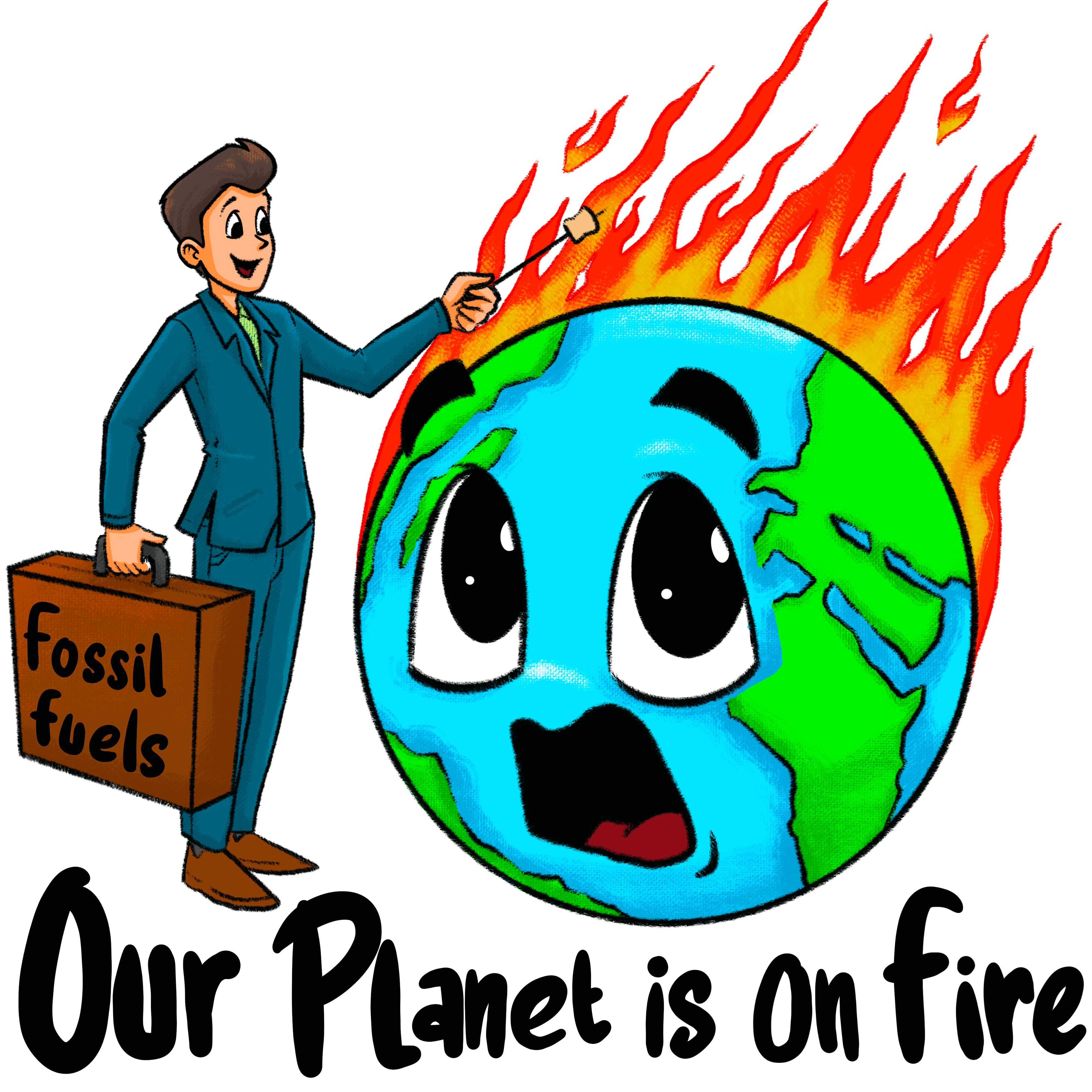 Our Planet is on Fire