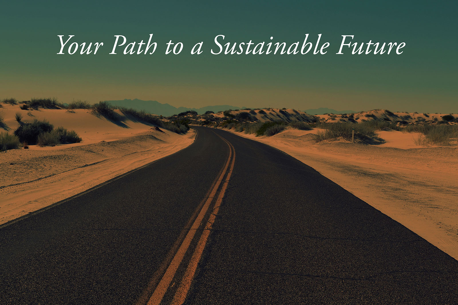 Your Path to a Sustainable Future