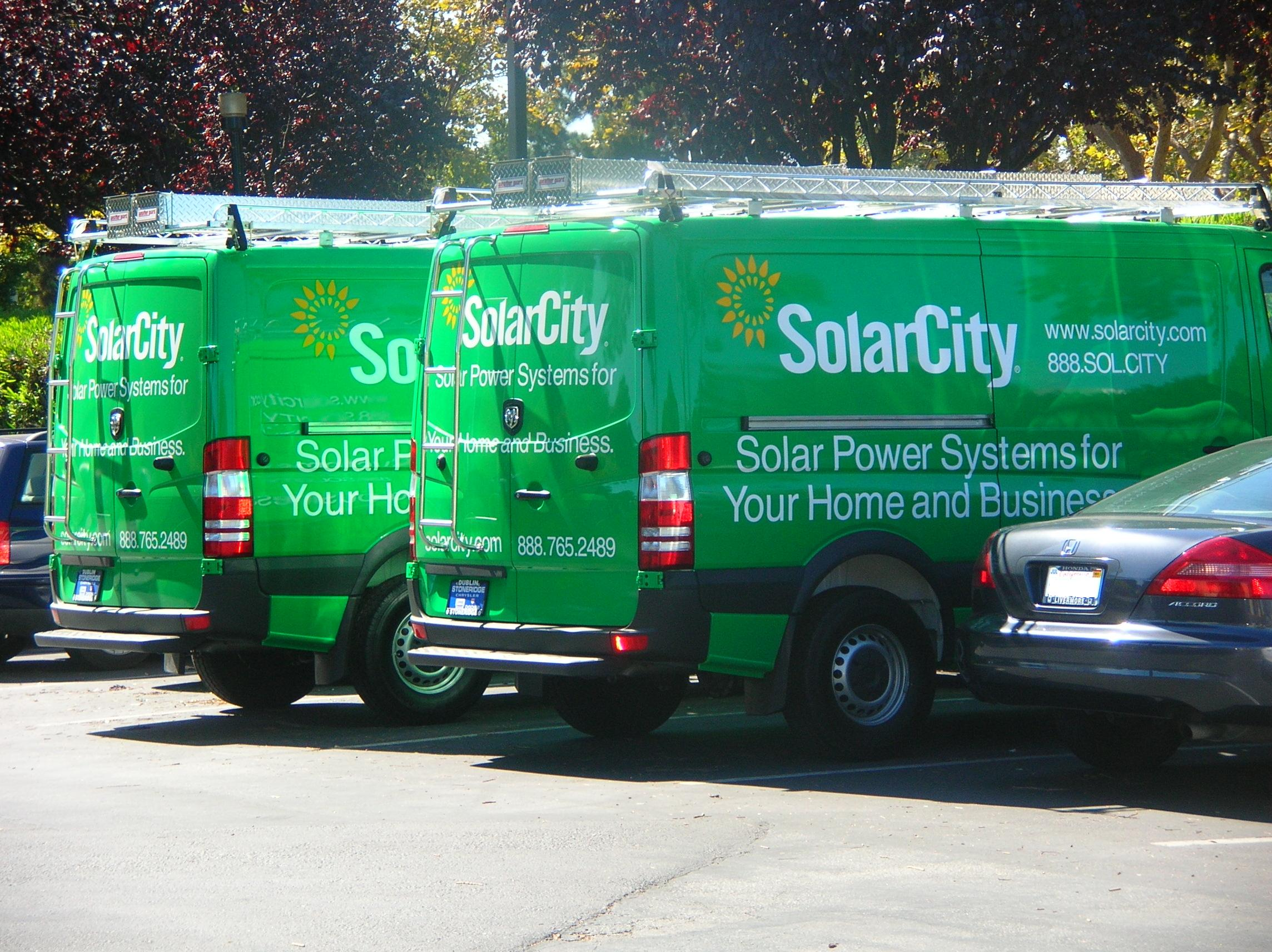 SolarCity Vehicles
