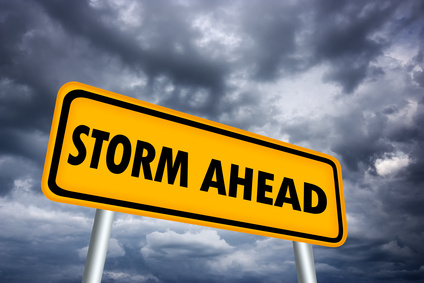 Climate change will increase the frequency and intensity of storms