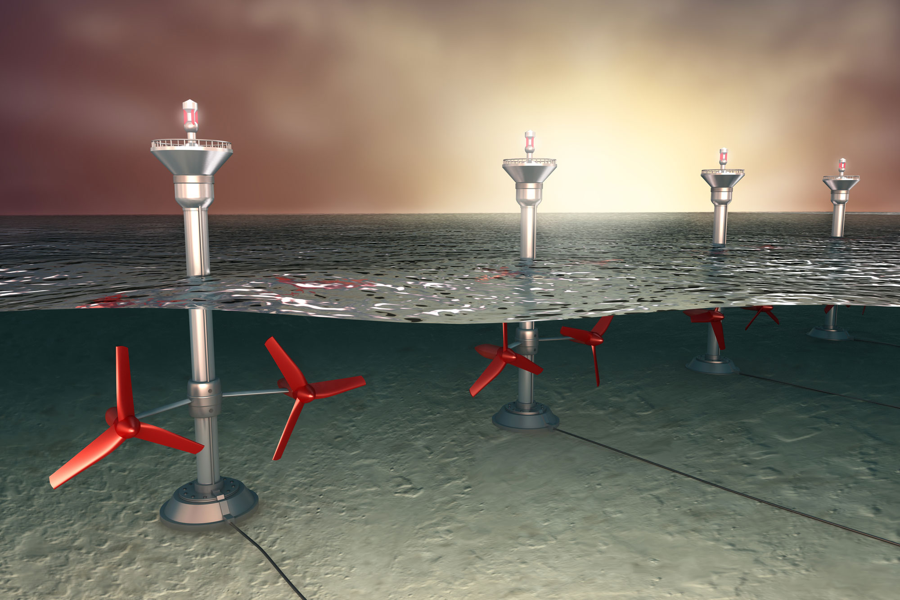 Tidal Power Turbines