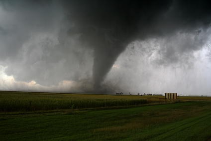 Tornadoes have a very powerful destructive force
