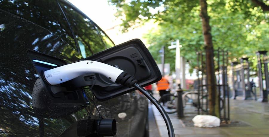 Electric Car Close-up