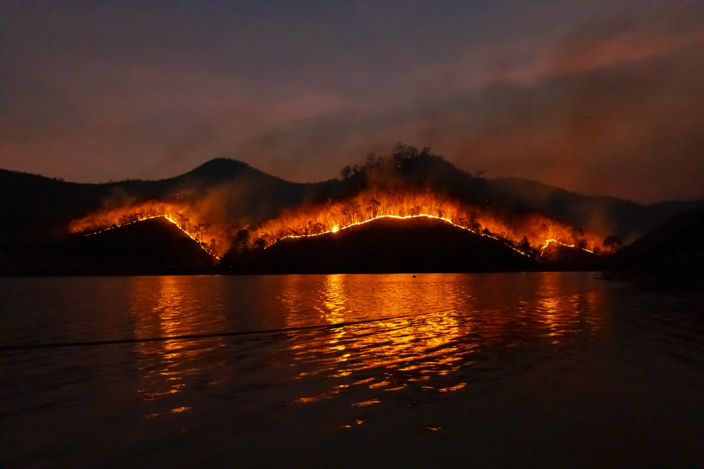 Droughts could lead to more wildfires