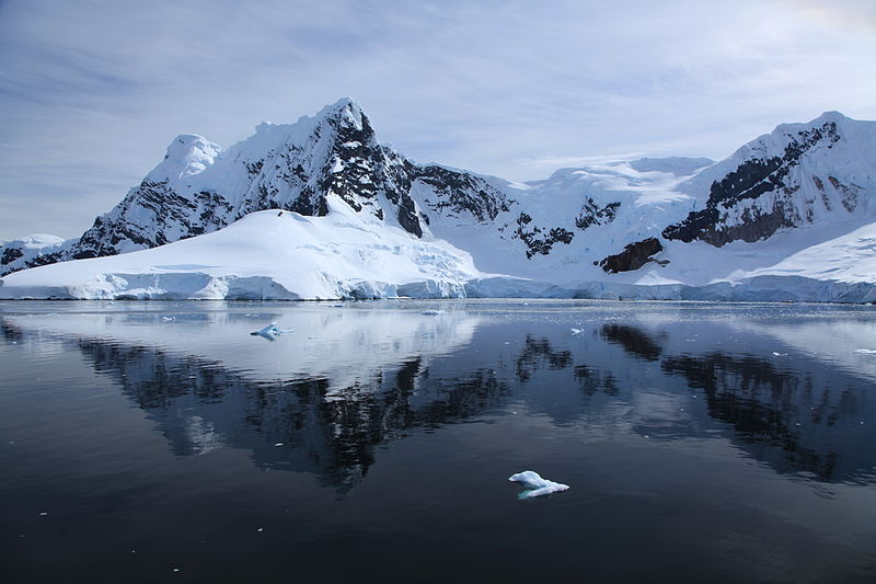 Beautiful scenery just north of Waterboat Point on the Antarctic Peninsula.