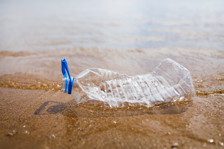 Bottle on Beach