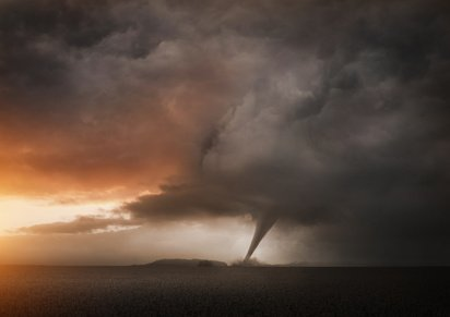 Climate change will cause tornadoes to become more powerful