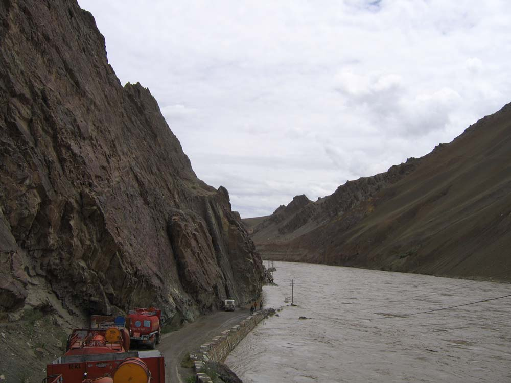 Flooding in Indus River