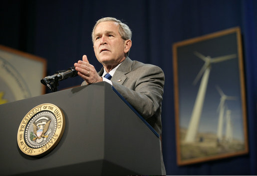 Former President George W. Bush invested in hydrogen fuel cells