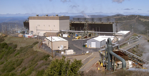 Geothermal power plants can help reduce greenhouse gas emissions