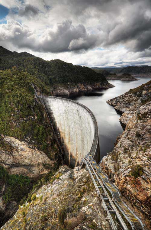 Hydroelectricity is a form of renewable energy