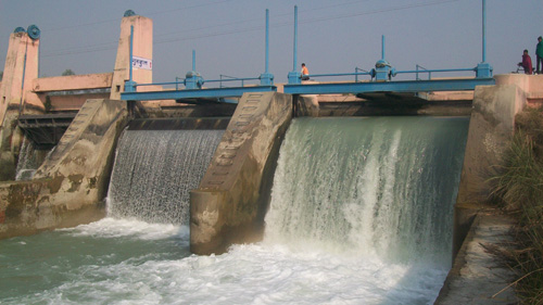 Hydroelectric dams can generate a great amount of power