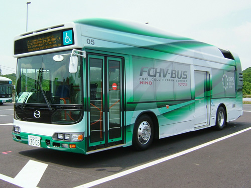 A fuel cell bus could greatly decrease your carbon footprint