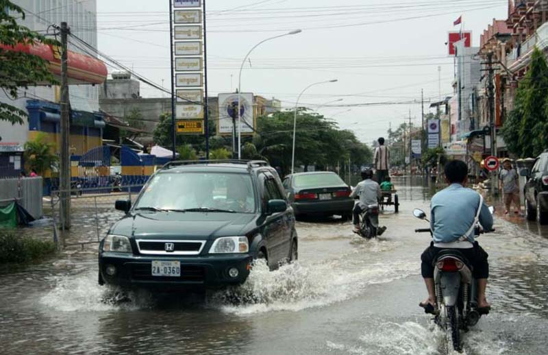 Kratie 2011 Flood