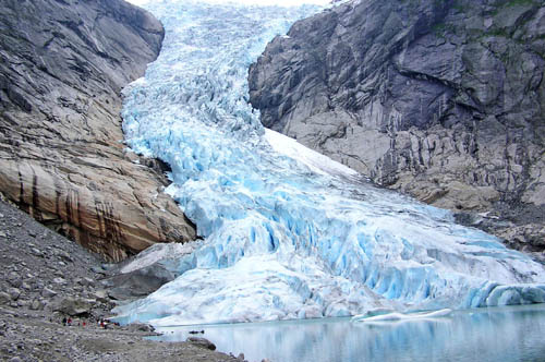 Melting glaciers pose a serious risk to human civilization as they will decrease fresh water resources and will raise sea levels