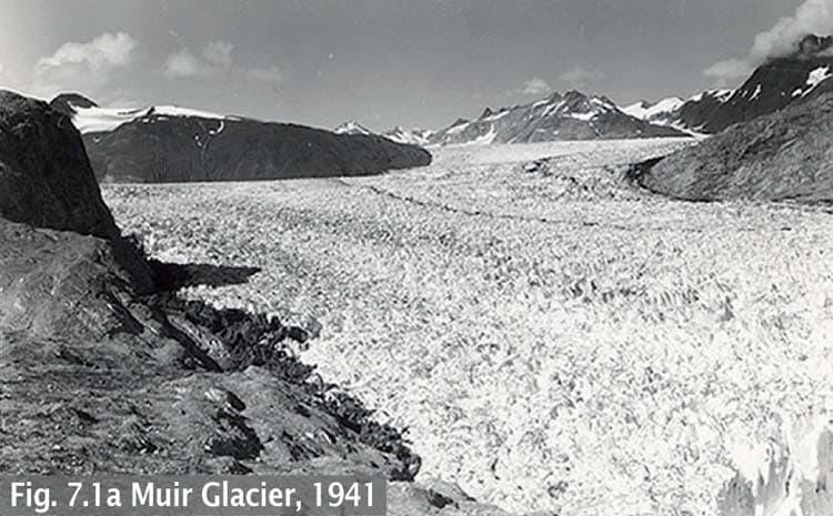 Muir Glacier in 1941