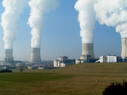 Nuclear power plants can generate a tremendous amount of energy