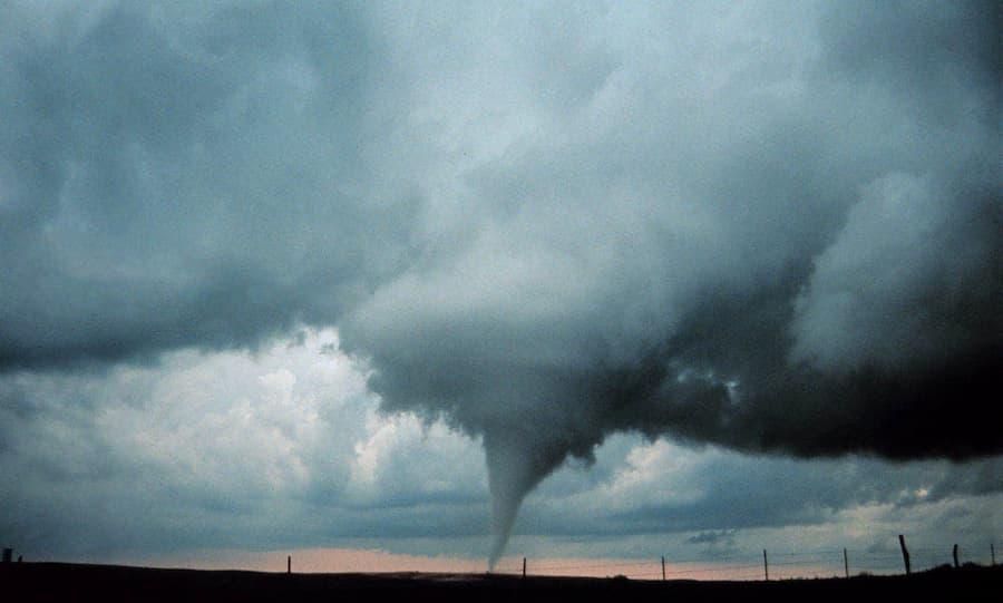 Occluded mesocyclone tornado