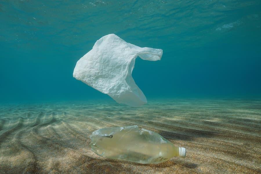 Plastic Bag Underwater