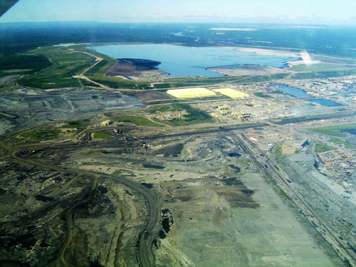 The oil sands have catastrophic consequences on local ecosystems
