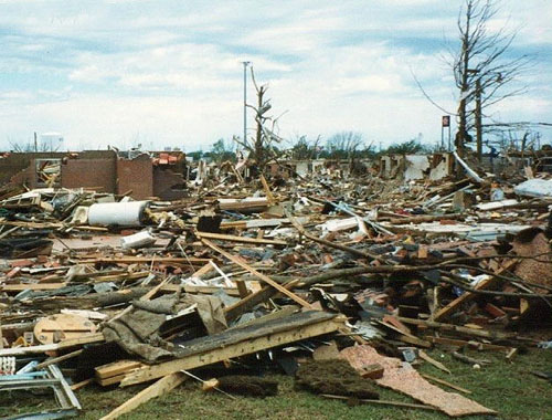 Tornadoes could destroy entire neighbourhoods