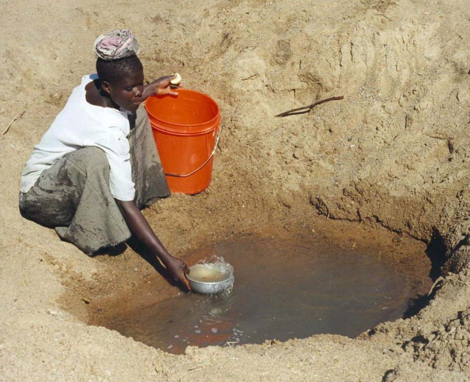 Only 61% of people living in Sub-Saharan Africa have access to improved drinking water