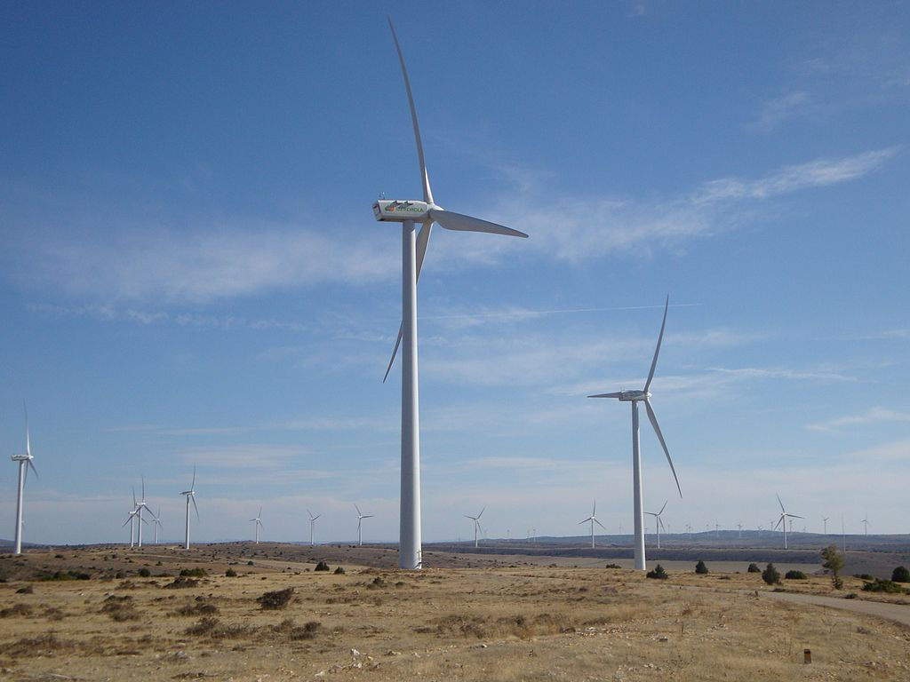 Wind power is a form of alternative energy that will help us reduce our greenhouse gas emissions