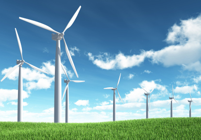 Wind turbines are sustainable and will help the economy as well