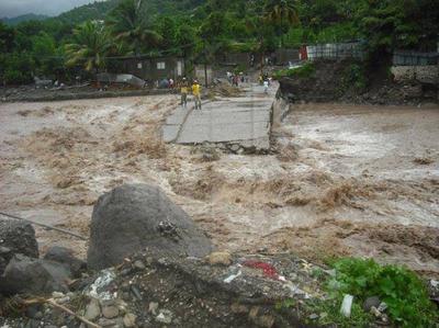 Flood Event in St. Thomas, Jamaica